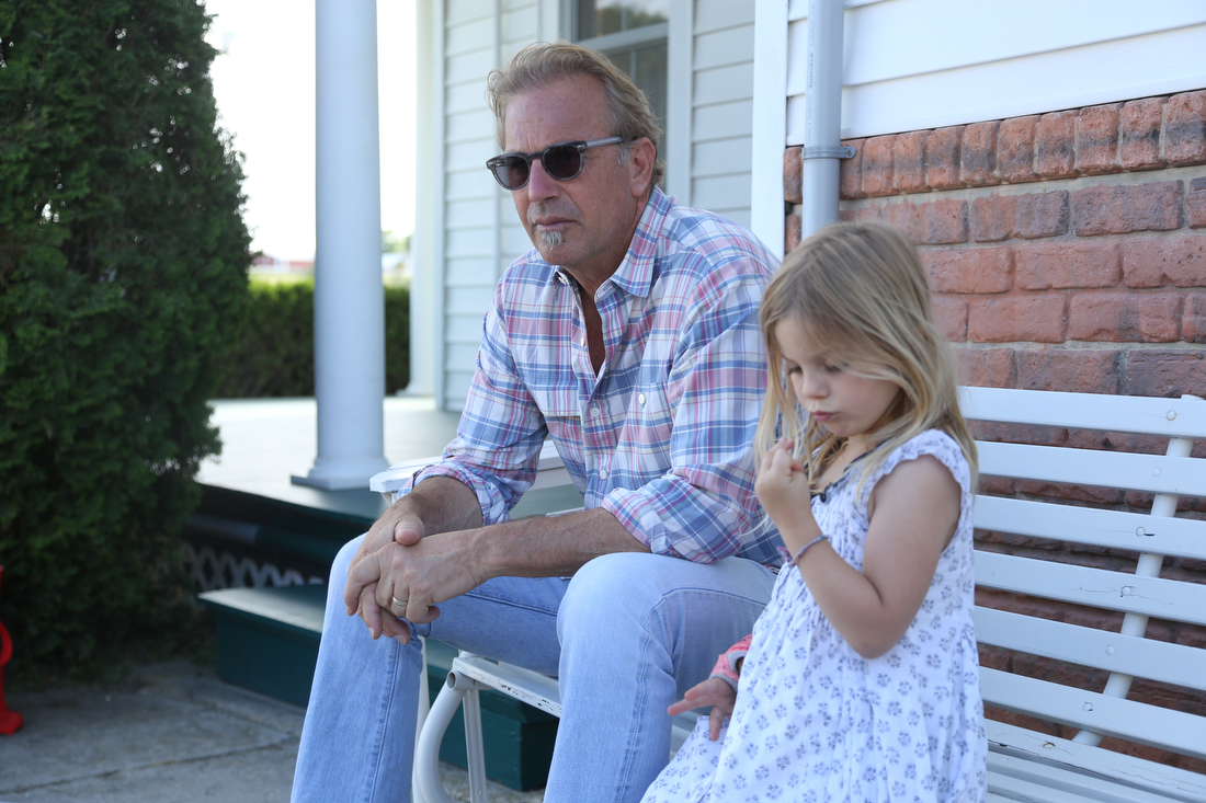 Photo of Kevin Costner & his  Daughter  Grace